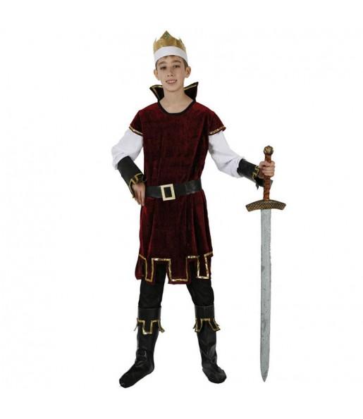 Disfraz chico Rey Medieval