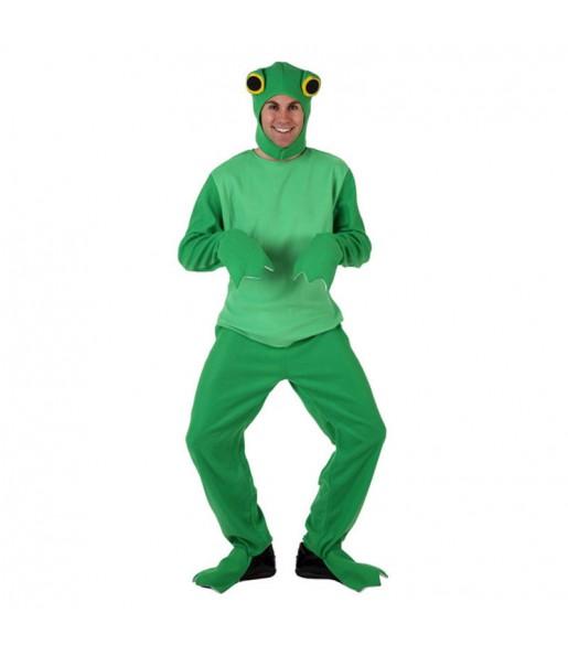 Disfraz de Rana Verde