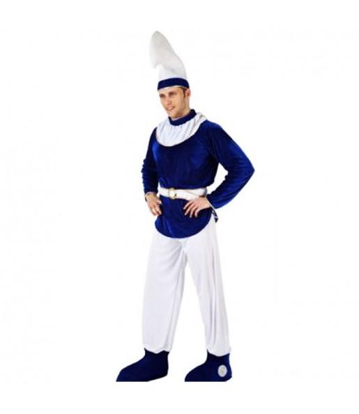 Disfraz de Enanito Azul barato