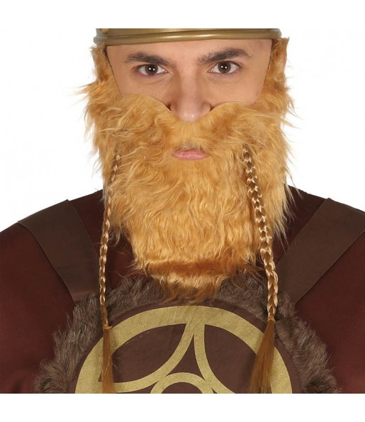 Barba Vikinga con bigote