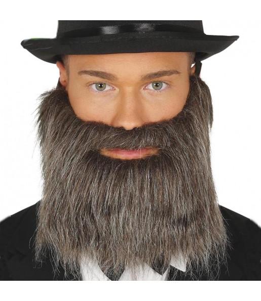 Barba y Bigote Gris