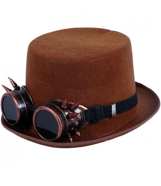 Chistera Steampunk con gafas