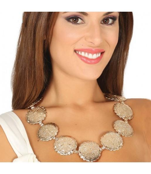 Collar Romana con medallones