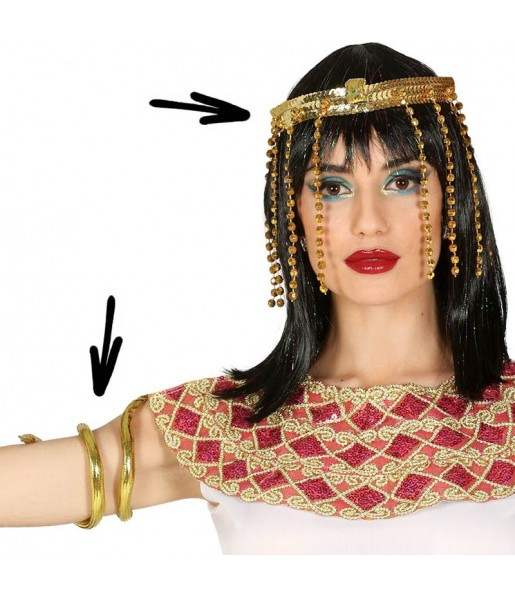 Kit accesorios disfraz Egipcia