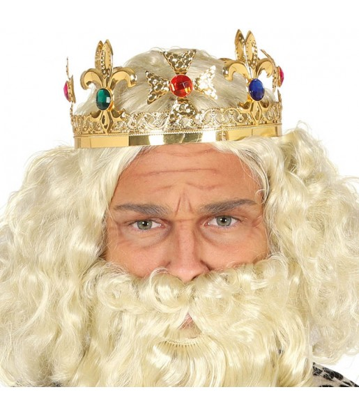 Corona de Rey Metálica