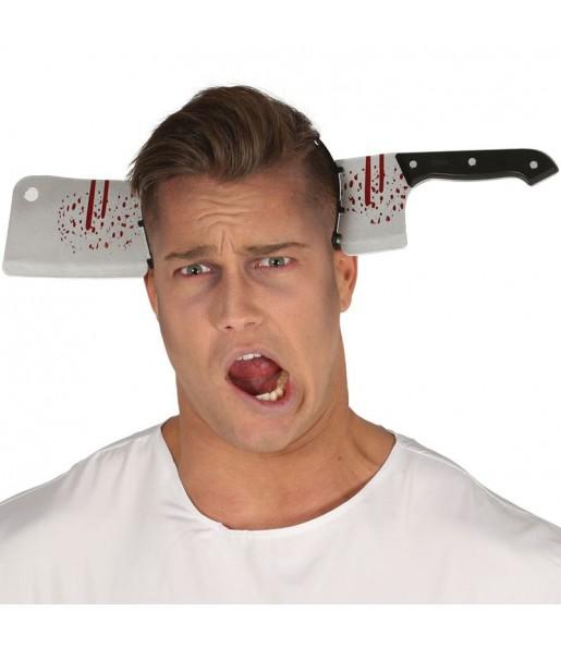 Diadema Cuchillo Carnicero Halloween