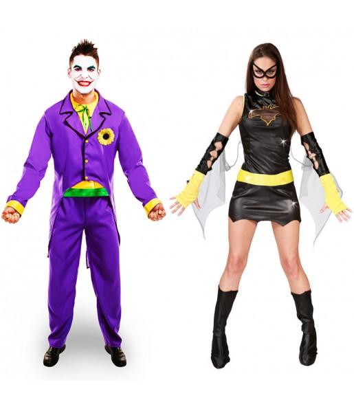Pareja Joker y Batwoman