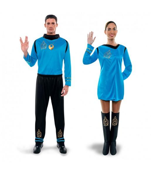 Pareja Star Trek Azul
