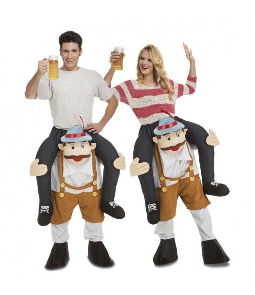 Disfraz de Alemán Oktoberfest a hombros adulto