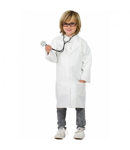 Disfraz Bata de Doctor para niños
