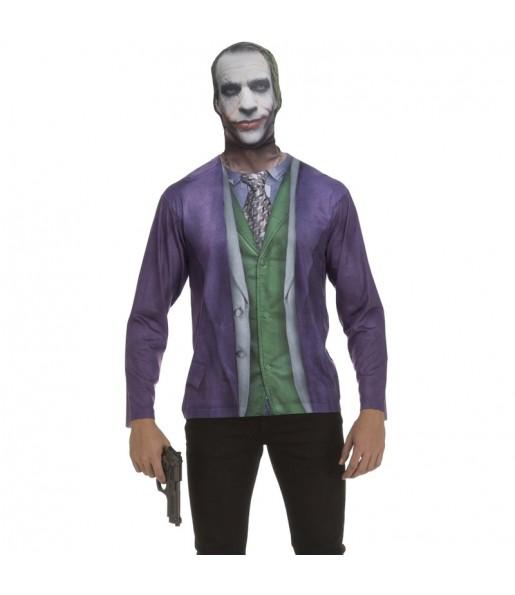 Disfraz Camiseta Joker Batman adulto
