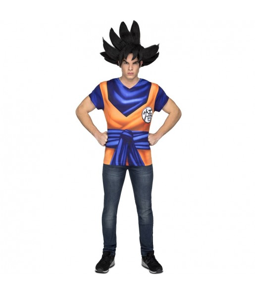 Camiseta Disfraz Son Goku adulto Dragon Ball