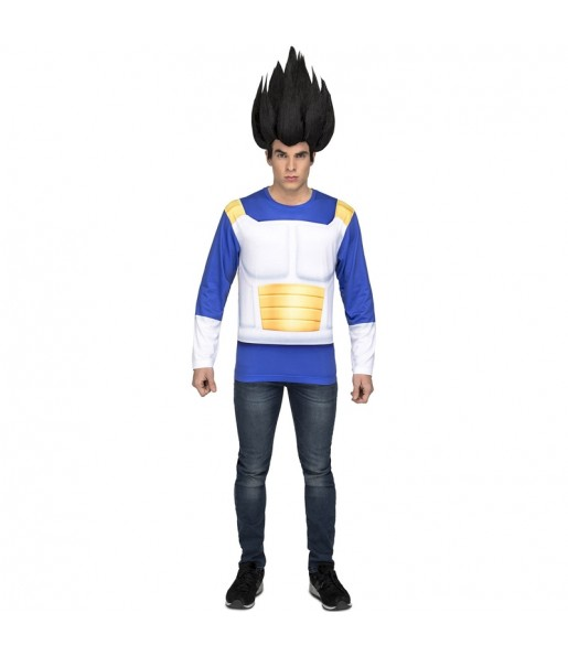 Camiseta Disfraz Vegeta adulto Dragon Ball