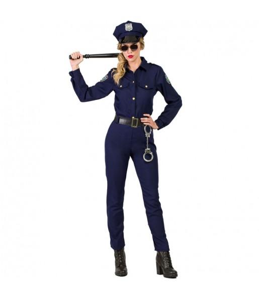 Disfraz de Agente Policía Mujer