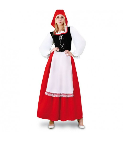 Disfraz de Aldeana con Delantal para mujer
