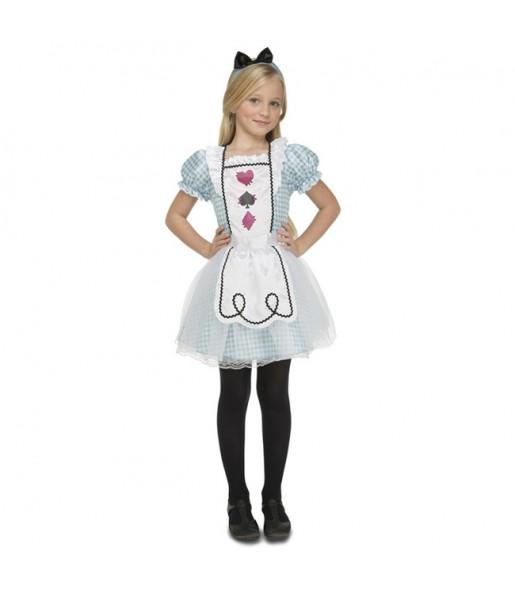Disfraz de Alicia en el País de las Maravillas para niña