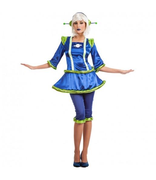 Disfraz de Alienígena para mujer