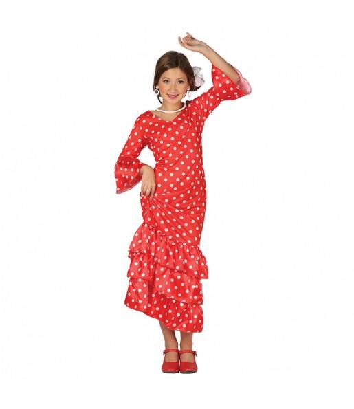 Disfraz de Andaluza Roja