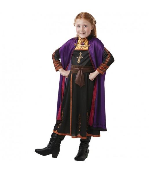 Disfraz de Anna Frozen 2 Classic para niña