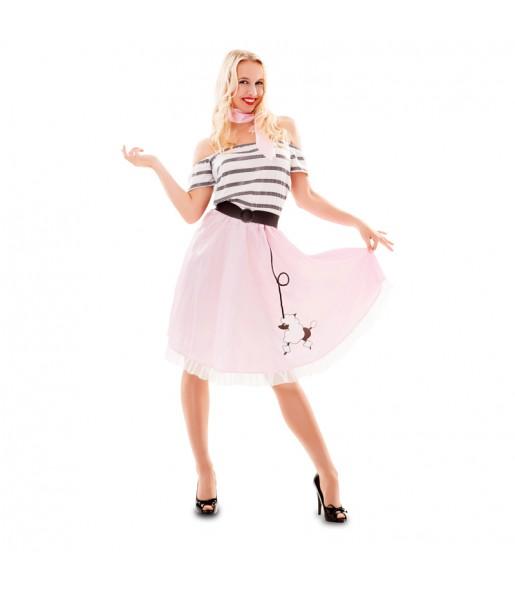 Disfraz de años 50 para mujer