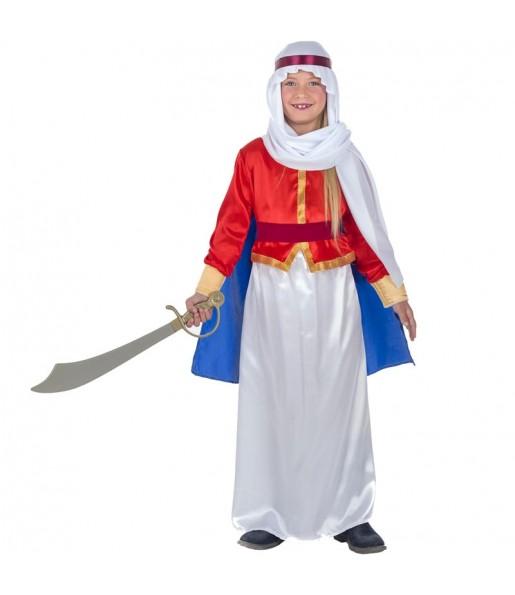Disfraz de Árabe Beduina para niña