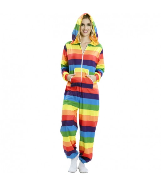 Disfraz de Arcoiris Orgullo Gay para adulto
