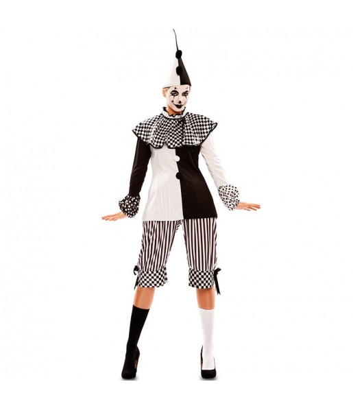 Disfraz de Arlequín Circo para mujer