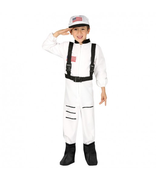 Disfraz de Astronauta Americano infantil