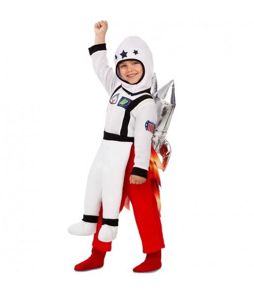Disfraz de Astronauta con cohete para niño