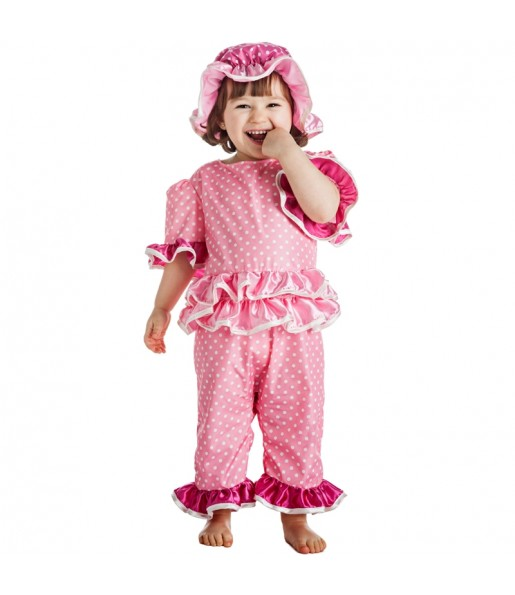 Disfraz de Bañista años 20 para niña