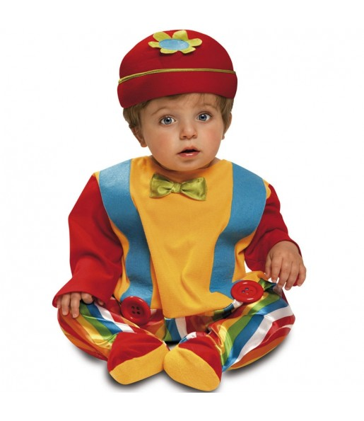 Disfraz de Bebé Payasito