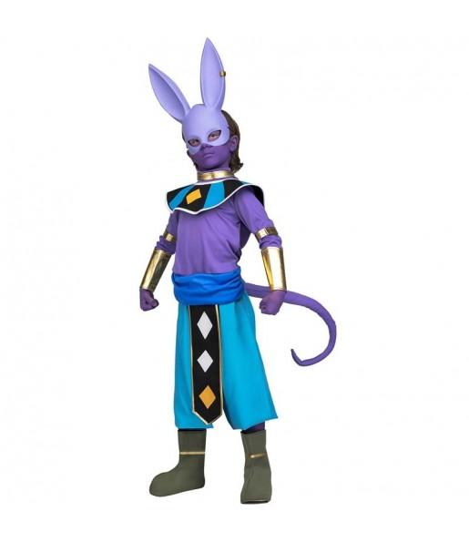 Disfraz de Beerus para niño Dragon Ball