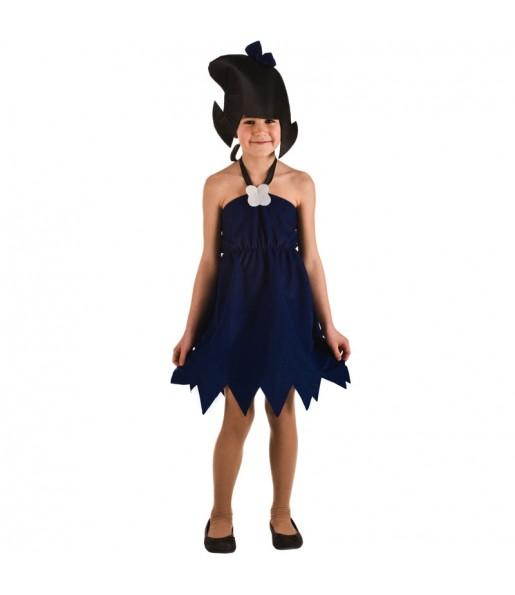 Disfraz de Betty Mármol para niña