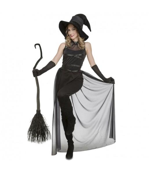 Disfraz de Bruja Negra para mujer