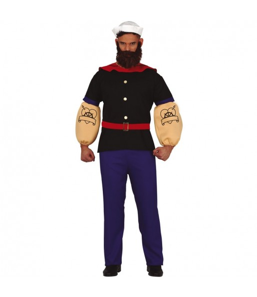 Disfraz de Brutus Popeye para hombre