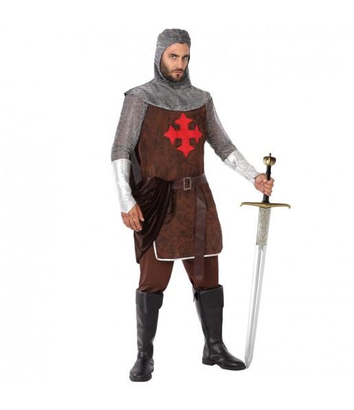 Disfraz de Caballero Medieval Cruzadas para hombre