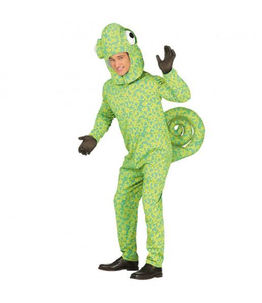 Disfraz de Camaleón para hombre