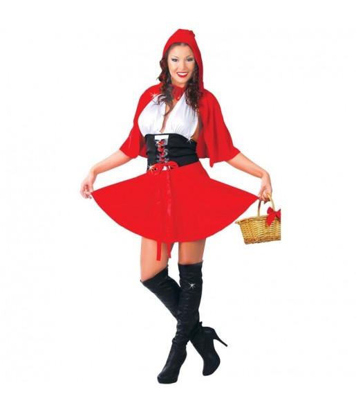 Disfraz de Caperucita Roja barata mujer