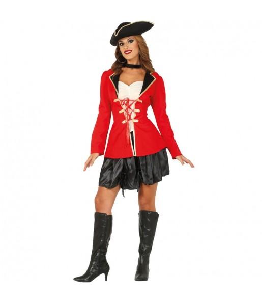 Disfraz de Capitán Garfio para mujer
