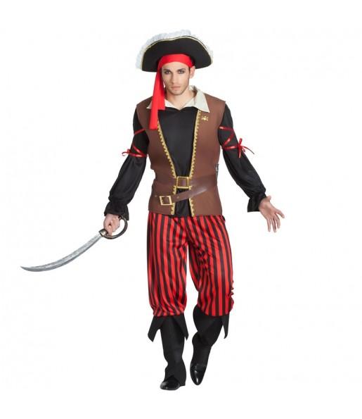 Disfraz de Capitán Pirata para hombre