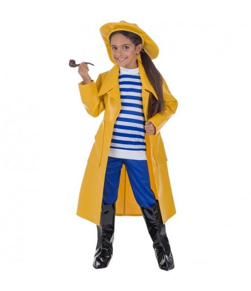 Disfraz de Capitán Pescanova para niña