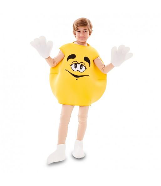 Disfraz de Caramelo Amarillo para niños