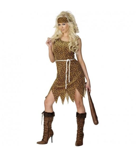 Disfraz de Cavernícola Mujer Económico
