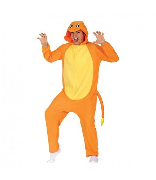 Disfraz de Charmander Pokémon Kigurumi adulto