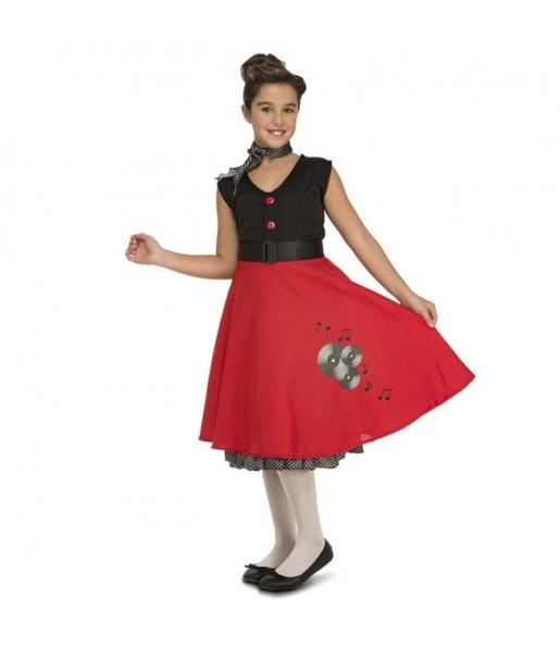 Disfraz de Chica Yeyé para niña