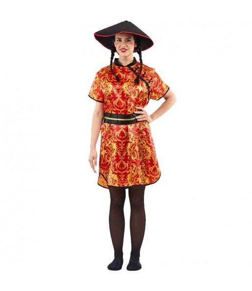 Disfraz de China Gran Dragón para mujer