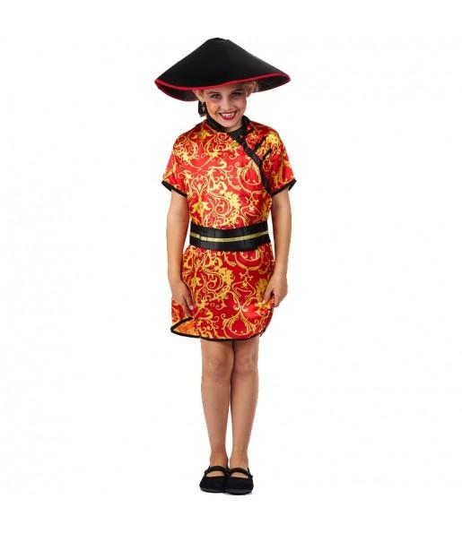 Disfraz de China Gran Dragón para niña