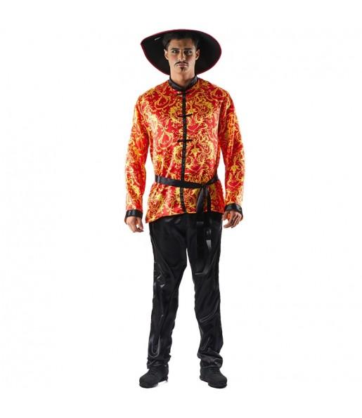 Disfraz de Chino Gran Dragón para hombre