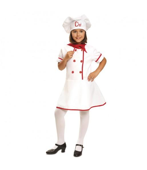 Disfraz de Cocinera Masterchef para niña