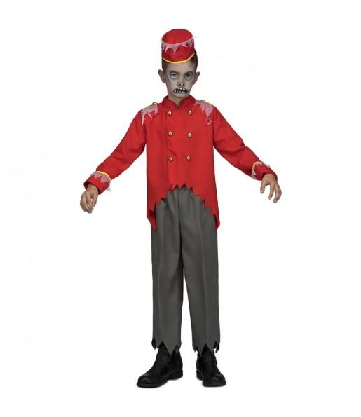 Disfraz de Conserje Zombie para niño
